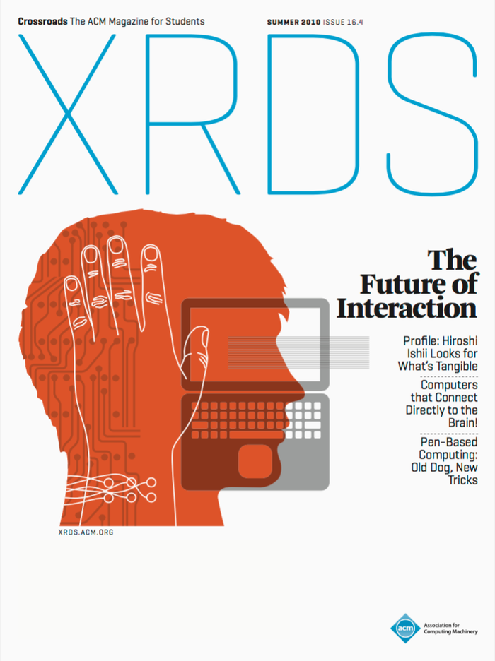 "Volume 16, No. 4, ""The Future of Interaction"". Art Direction: Shostak Studios, Mitch Shostak, Corey Kuepfer."