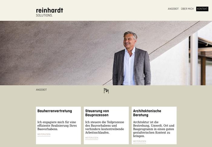Reinhardt Solutions 2