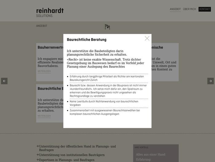 Reinhardt Solutions 3