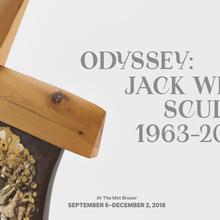 <cite>Odyssey: Jack Whitten Sculpture 1963–2017</cite>