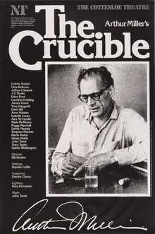 Arthur Miller's <cite>The Crucible</cite>, National Theatre