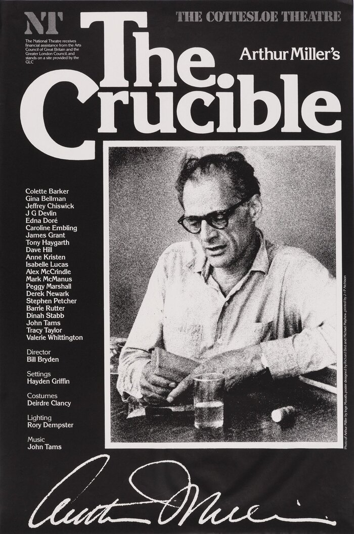 Arthur Miller's The Crucible, National Theatre