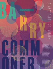 Barry Commoner biography poster