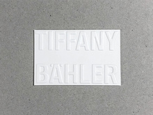 Tiffany Bähler business card