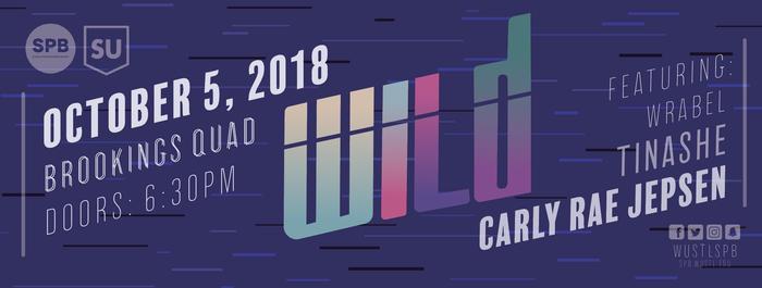 Fall 2018 WILD concert poster 3