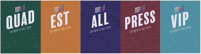 Fall 2018 WILD concert poster 4