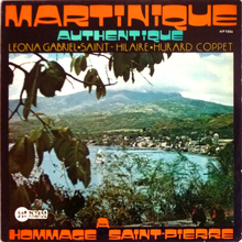 <cite>Martinique Authentique. Hommage à Saint-Pierre </cite>album art