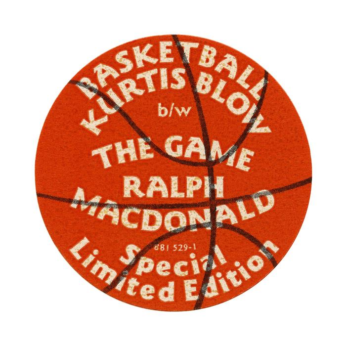 Kurtis Blow – Basketball sticker