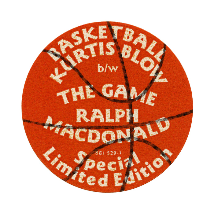 Kurtis Blow – Basketball sticker