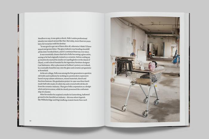 Spread in the English edition. Typeset in Lyon Text. Photo: Märta Thisner/IKEA.