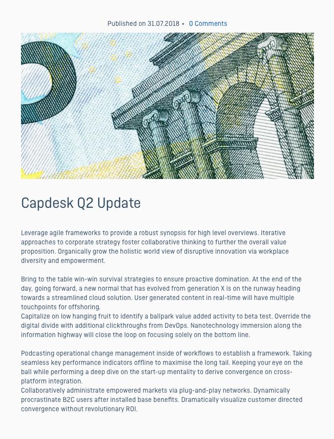 Capdesk 4