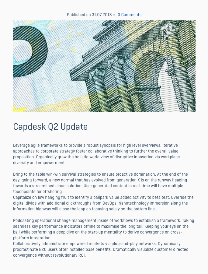 Capdesk 4