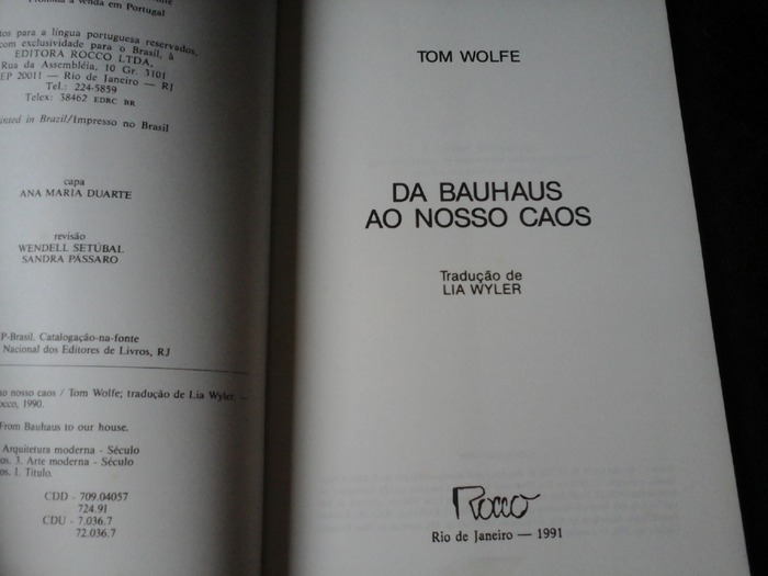 Da Bauhaus ao nosso caos 2