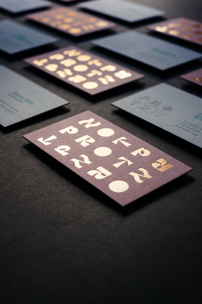 Protz Studio business cards 2