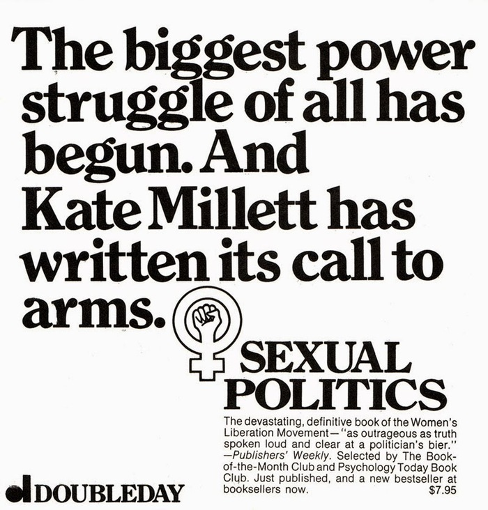 Sexual Politics ad