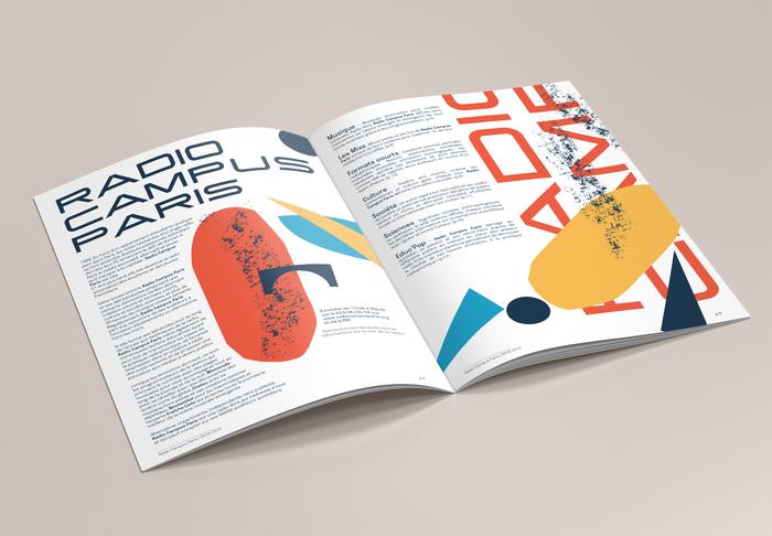 Radio Campus Paris program brochure 3