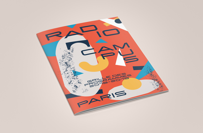 Radio Campus Paris program brochure 4