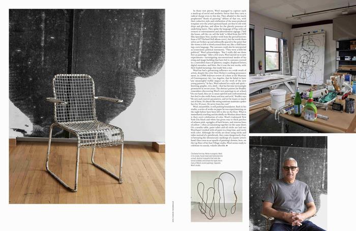 """W magazine, November 2018, """"The Art Issue"""" 5"""