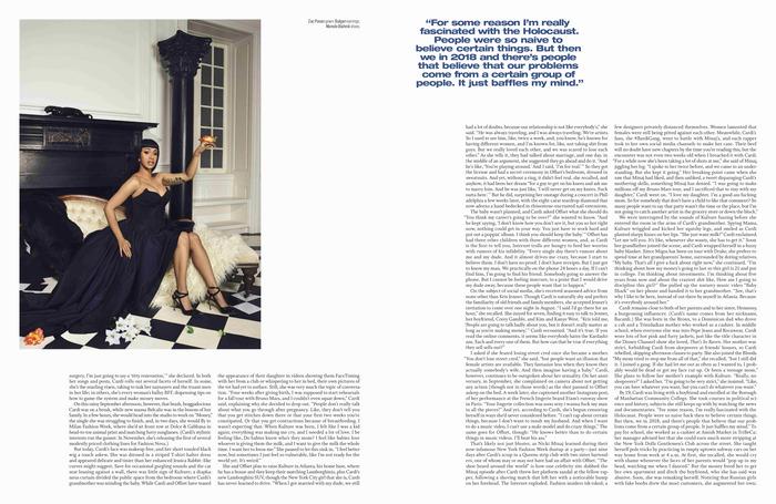 """W magazine, November 2018, """"The Art Issue"""" 8"""