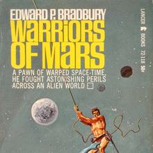 <cite>Warriors of Mars</cite> – Edward P. Bradbury (Lancer Books)