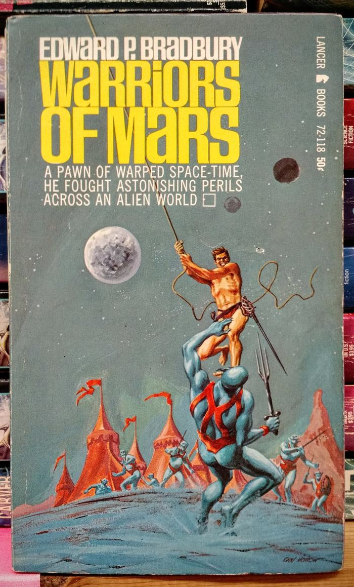 Warriors of Mars – Edward P. Bradbury (Lancer Books)
