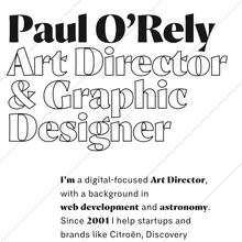 Paul O'Rely portfolio website