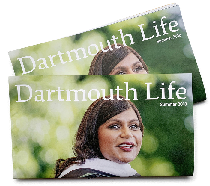 """Dartmouth Life,"" an alumni publication"