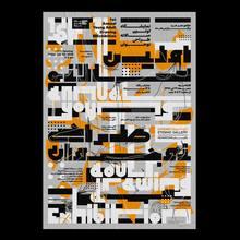Kherad Art House identity & poster series