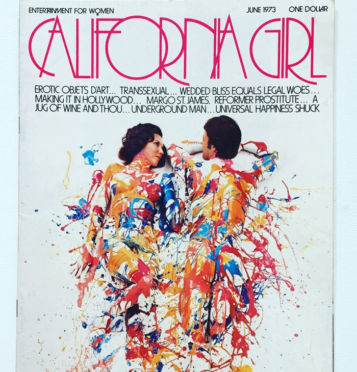 "California Girl, June 1973. ""Before Playgirl, there was California Girl, and it had a lot more style."" — @faroutcompany"