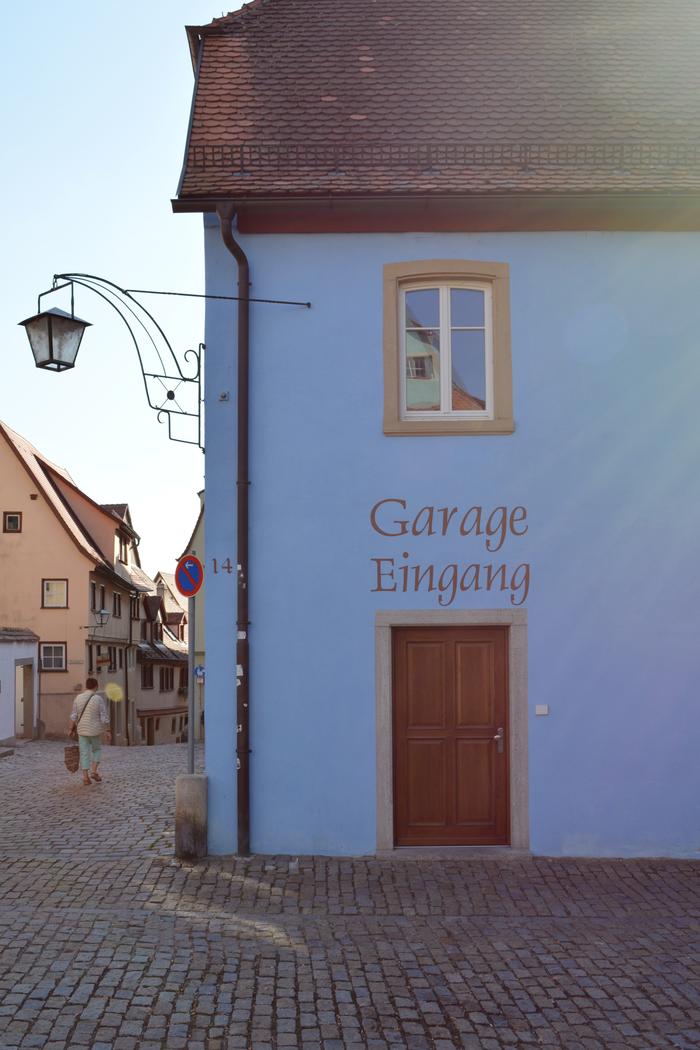 Hotel Gasthof Sonne, Rothenburg 1