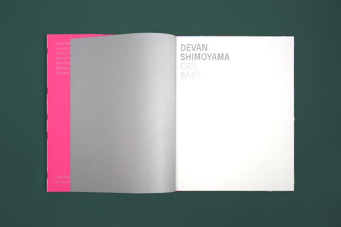 Cry, Baby. Devan Shimoyama catalog 3