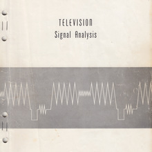 <cite>Television Signal Analysis</cite>