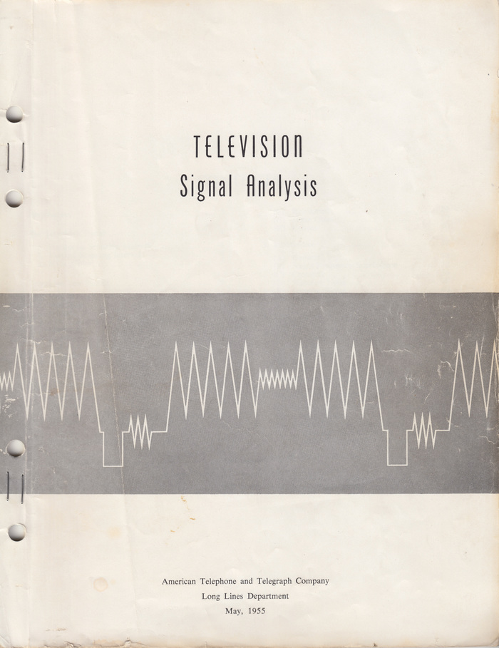 Television Signal Analysis