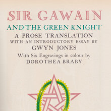 <cite>Sir Gawain and the Green Knight </cite>title page