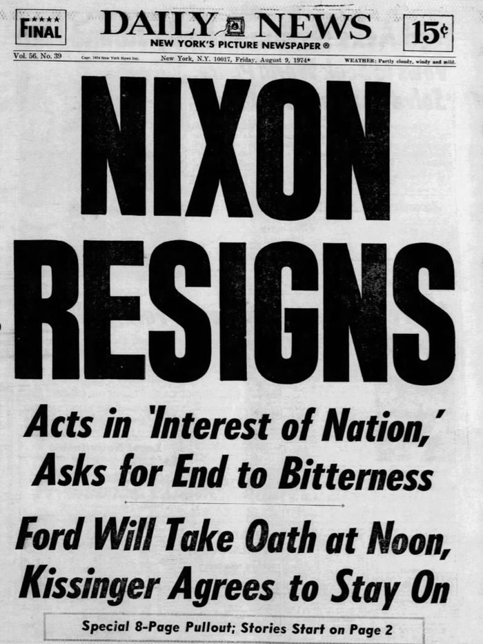 New York Daily News front pages (1939–85) 7