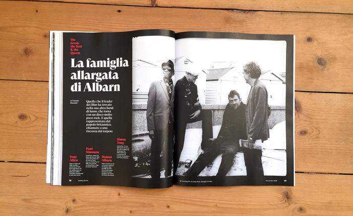 Rolling Stone Italia, issue 11, November 2018, p.78-79
