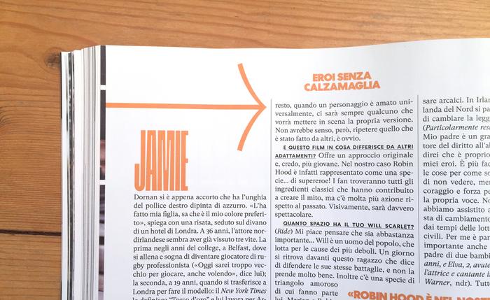 Rolling Stone Italia, issue 11, November 2018, p.106-107