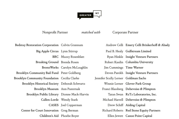 The list of all partners is rendered in the Medium and Book weights of the Dapifer family.