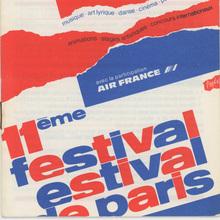 11ème Festival Estival de Paris