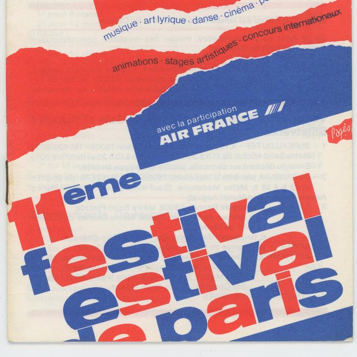 11ème Festival Estival de Paris 6