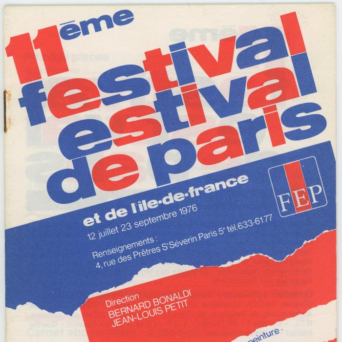 11ème Festival Estival de Paris 5