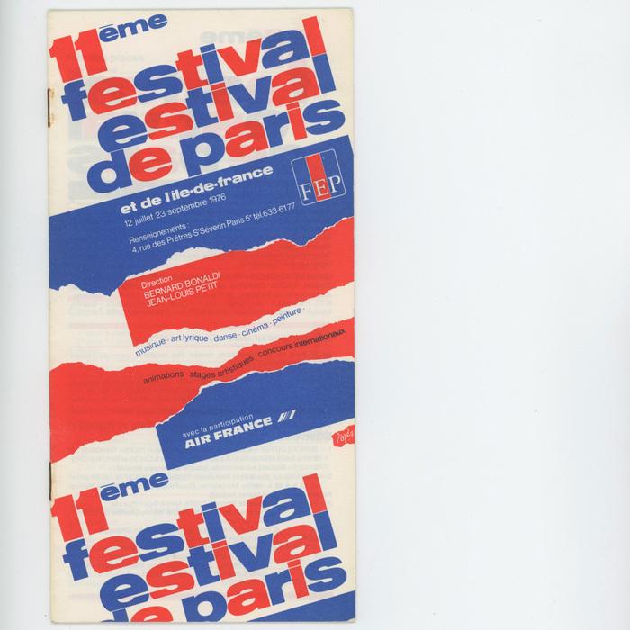 11ème Festival Estival de Paris 1