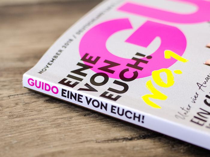 Guido magazine, first issue 1