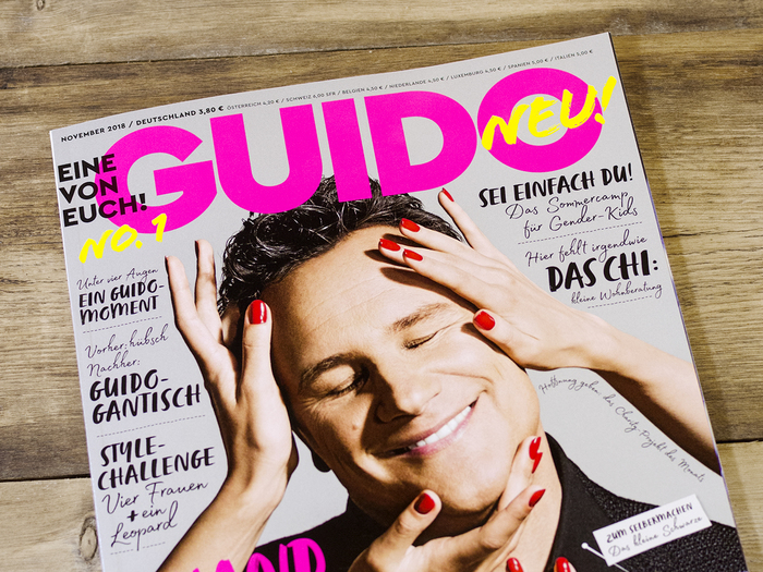 Guido magazine, first issue 2