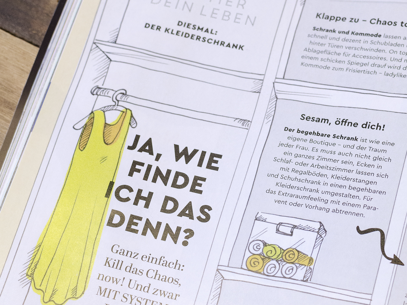 Guido Magazine First Issue Fonts In Use