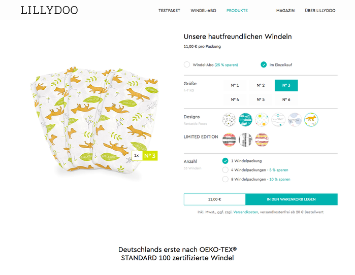 Lillydoo diapers 11
