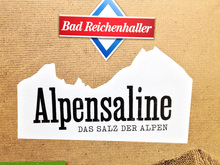 Bad Reichenhaller salt packaging