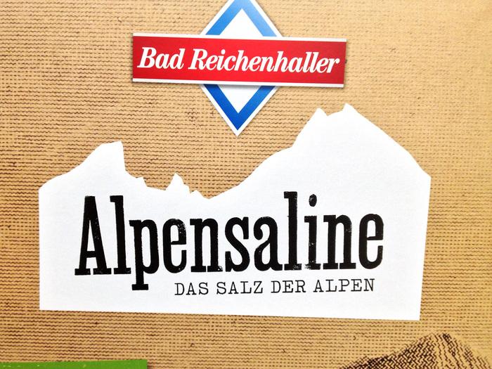 Bad Reichenhaller salt packaging 1
