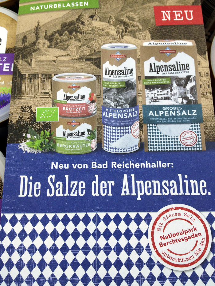Bad Reichenhaller salt packaging 2