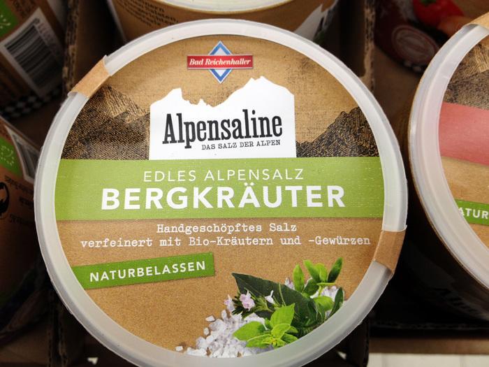 Bad Reichenhaller salt packaging 3